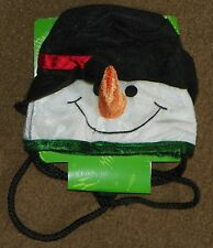 NEW Pet Holiday Dog Costume SNOWMAN HAT Head Wear NWT X-Small Small