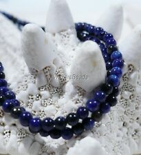 Lapis Lazuli Natural Blue Gem Stone Bead Strand Afghanistan Super Small 2 MM 16""