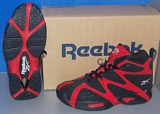 BOYS REEBOK KAMIKAZE I MID in colors FLASH RED / BLACK / WHITE SIZE 7