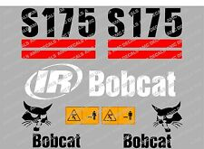 BOBCAT S175 SET DI ADESIVI DECAL DI SKID STEER