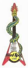 Hard Rock Cafe YOKOHAMA 2001 SNAKE GUITAR Series PIN Zodiac Year of the #10563