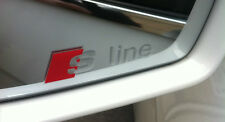 AUDI S Line Logo Premium Wing Mirror Decals Stickers