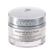 Lancome High Resolution Refill-X Anti Wrinkle Cream 1.7oz Unbox With Scratches