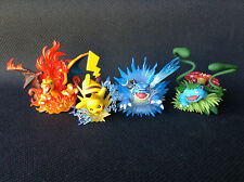 CHARIZARD + PIKACHU + BLASTOISE + VENUSAUR OFFICIAL POKEMON COLLECTOR'S FIGURE