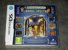 Professeur Layton L'Appel du Spectre - Jeu DS/DSI/Lite/3DS/XL Complet