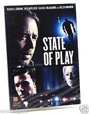 Stato di gioco DVD Regione 2 NUOVO SIGILLATO Russell Crowe