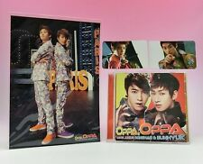CD+DVD SUPER JUNIOR DONGHAE & EUNHYUK Oppa Oppa First E.L.F Limited Photo Card