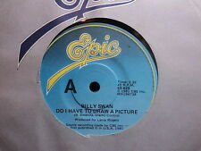 "Billy Swan ""Do I Have To Draw A Picture"" Rare Oz 7"""
