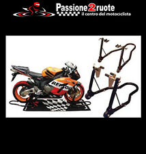 pair stands lift up moto motogp moto gp front + rear removable