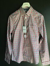 Ben Sherman House Gingham Shirt Regular Fit, Off White, Size XS