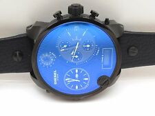 DIESEL SBA 65X57MM  MR. DADDY STAINLESS MEN'S CHRONOGRAPH WATCH, DZ7127, NIB,