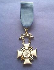 W.W. I  ORDER OF FREDERICK WURTTEMBERG  4TH CLASS WITH SWORDS- EST. 1856