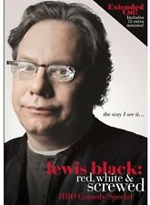 Lewis Black: Red, White & Screwed (2013, REGION 0 DVD New) DVD-R