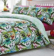 Tropical Island Double bed duvet cover pol/cotton