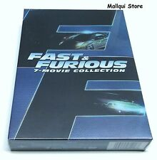 FAST & FURIOUS  1 - 7 MOVIE COLLECTION DVD BOX SET 8 DISCS