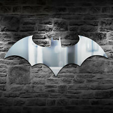 Bat Mirror Art LED Color Changing Wall Lamp Light Home Hallway Cafe Decor Ouk