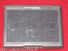 Official Clear Black HORI Nintendo DS 3DS Game Cartridge Case 24
