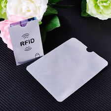 25 X Credit Card Passport Protector RFID Blocking Sleeve Shield Holder Cover