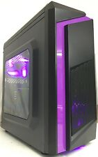 SUPER FAST GAMING COMPUTER PC INTEL CORE 2 QUAD Q8200 4GB RAM 500GB WINDOWS 10