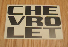 1958 1959 CHEVY TRUCK GRILLE LETTERS BLACK