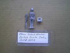 54mm Scheid Miniatures British Private  India  in pith helmet