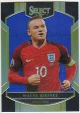 2016-17 Panini Select Soccer Terrace Blue /299 #17 Wayne Rooney