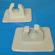 2Pcs GRAY OAR HOLDER PATCH FOR Canoe INFLATABLE BOAT DINGHY RAFT