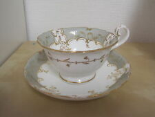 Antique Coalport Tea Cup & Saucer 3/82 c.1830's