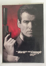 COMPLETE SET OF JAMES BOND WORLD IS NOT ENOUGH TRADING CARDS - 1999 - NM