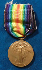 WW1 Great Britain British Victory medal 47392 CPL. W. HALLETT Royal Navy
