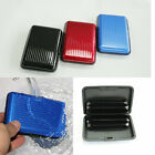 Pocket Business ID Credit Cards Wallet Holder Case Box Aluminum Metal Waterproof