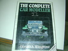 GERALD WINGROVE COMPLETE CAR MODELLER VOL 1 1993 REVISED NEW EDITION NEW PLANS