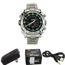 16G IR HD 1080P Waterproof Watch Night Vision Camera Camcorder DVR Digital Video