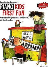 Klavier Noten : Piano Kids FIRST FUN sehr leicht - leicht HEUMANN
