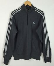 VINTAGE 90'S ADIDAS PULLOVER SWEATER SWEATSHIRT JUMPER SPORTS RETRO UK M