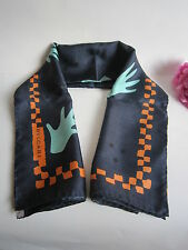BVLGARI designer silk square scarf. Mint in box. Beautiful.