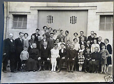 Photo Ancienne Portrait Famille Mariage - an. 20