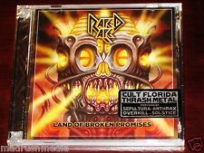 Raped Ape: Land Of Broken Promises 2 CD ECD Set 2013 Divebomb Recs DIVE038 NEW