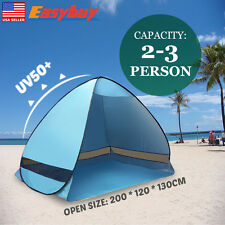 Pop Up Portable Beach Canopy Sun Shade Shelter Outdoor Camping Fishing Tent Mesh