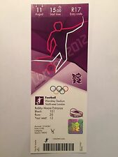 LONDON 2012 TICKET FOOTBALL MENS FINAL WEMBLEY MEXICO GOLD 11 AUG £185 *MINT*