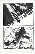PLANCHE ORIGINALE 121/TABU SUPPLE 3/RATMAN/PARODIE BATMAN/TAVOLA/ELVIFRANCE