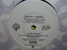 "Shaun Cassidy ""Our Night"" Very Rare Oz 7"""