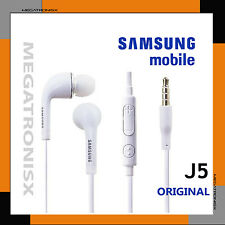 ORIGINAL SAMSUNG J5 GALAXY EARPHONE FOR GRAND S3 S2 NOTE 2,3,4  HEADPHONE