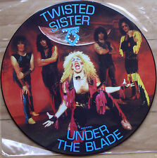 TWISTED SISTER UNDER THE BLADE VINYL PICTURE DISC LP