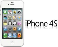 Unlocked Apple iPhone 4S 3G GSM GPS Smartphone 16GB White