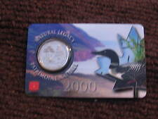 CANADA 2000 25 CENT NATURAL LEGACY COIN SEALED IN RARE  ROYAL CANADIAN MINT CARD