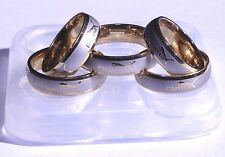 Unisex Multi Clear silicone Ring Mold,size (8.)(9.)(10.5),(12.)(13)  (3-47)