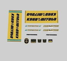 Koga Miyata Full Pro Bicycle Decals, Transfers, Stickers n.200