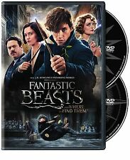 Fantastic Beasts and Where to Find Them (DVD 2016) NEW