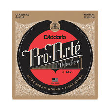 D'Addario EJ47 Pro Arte Nylon Classical Guitar Strings normal tension 80/20 brze